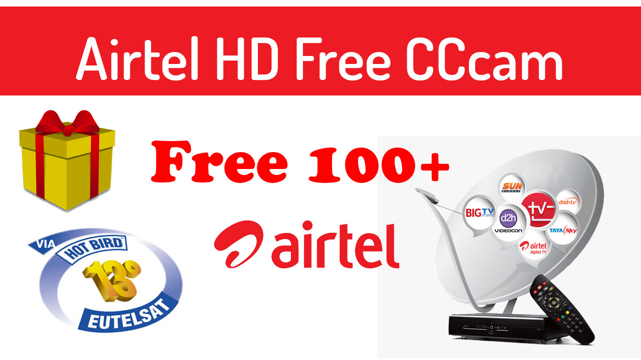 Airtel 108 free cccam 6 month